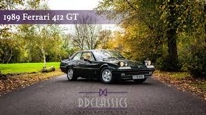 412 gt for sale 1989 412 gt dd classics