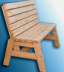 Plans For Building A Wooden Bench by How To Build A Comfortable 2 4 Bench And Side Table Jays Custom
