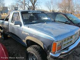 1988 dodge dakota pickup truck item j2651 sold march 1