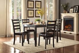 espresso dinette set u2013 peace of mind home furnishings offers a