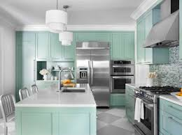 Light Turquoise Paint by Awesome Paint Colors For Kitchen Cabinets With Light Wooden