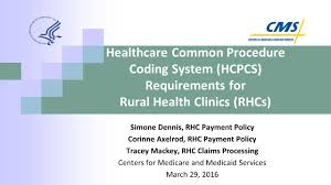 healthcare common procedure coding system hcpcs requirements for