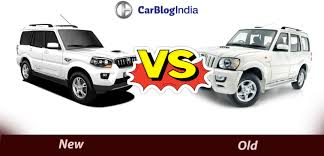 indian car mahindra mahindra scorpio old vs new model
