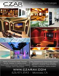 Home Theatre Design Los Angeles Czar Audio Video U0026 Home Theater Sales Design U0026 Installation
