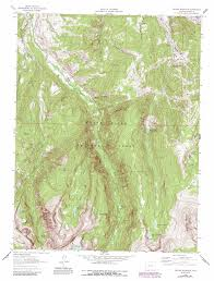 Colorado Mountain Map by Grouse Mountain Topographic Map Co Usgs Topo Quad 39106e5