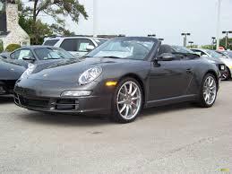 porsche slate gray 2008 slate grey metallic porsche 911 carrera s cabriolet 92354