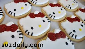 Hello Kitty Halloween Decorations by How To Make A Hello Kitty Cookie Suz Daily