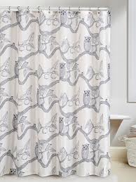 Modern Bathroom Shower Curtains by Bathroom Exciting Decorative Shower Curtains With Owl Bathroom