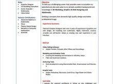 Download Fresher Resume Format Resume Format Doc For Fresher Free Resume
