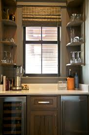 Floating Bar Cabinet Furniture Dark Brown Wooden Bar Cabinet With White Granite Top