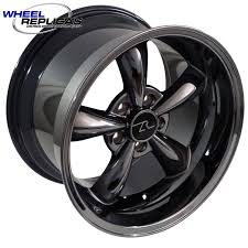 Black Mustang Wheels Mustang Wheel Replicas