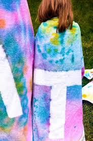 spray dye swimming towels design dazzle