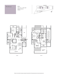 Holland Residences Floor Plan | penthouse 4 bed holland residences