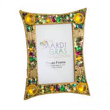 mardi gras picture frames mardi gras gold glitter frame 4 x 6 mg19 145