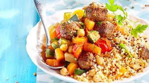 cuisiner le couscous couscous express aux boulettes facile et pas cher recette sur