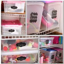 Toy Organization by Chalkboard Labels For Organized Toy Storage