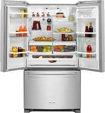 kitchenaid 20 0 cu ft french door counter depth refrigerator