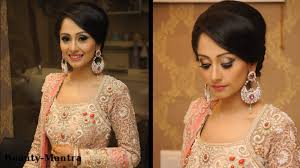 wedding makeup ideas simple classy reception look youtube