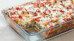 weekend recipe vegetable lasagna kcet