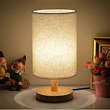 Bedroom Table Lamps Table Lamps With Led Bulb Invesch Bedside Minimalist Solid Wood