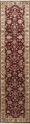 rugsville knotted sarouk salmon tribal runner rug 2 6 x 12