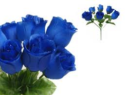 blue roses for sale 84 silk buds roses wedding flowers bouquets wholesale supply for