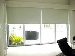 kitchen large size contemporary roller shades for sliding glass