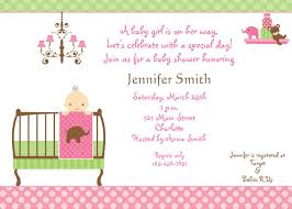 Baby Shower Invitation Wording Bring Books Instead Of Card Design Baby Shower Invitations For A Airl