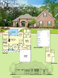 house plans mississippi architectural designs acadian house plan 51705hz has 3 beds plus a