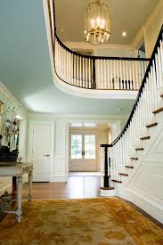Painting Banisters Ideas Black Banister Hall Victorian With Hallway Bronze Pendant Lights