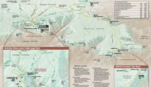 Map Of Yellowstone National Park Maps Of Grand Canyon National Park My Grand Canyon Park