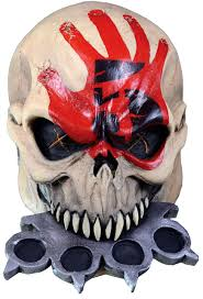 Halloween Costumes Death Trick Treat Finger Death Punch Knuckle Mask Halloween