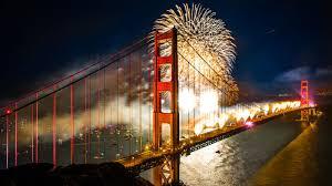 Bay Bridge Light Show The Golden Gate Bridge Looks Good As Ever On Its 75th Birthday