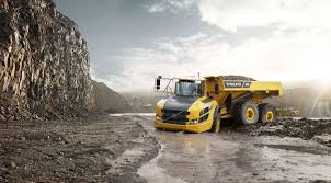 volvo dump truck articulated dump truck rubber tired diesel for construction
