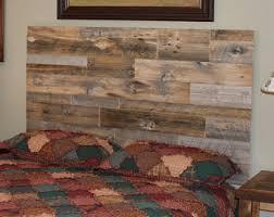 barnwood headboard etsy