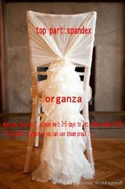 chair sashes for wedding ivory chair sash for weddings with big 3d organza ruffles delicate