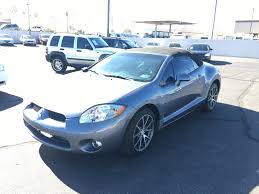 mitsubishi 2007 used 2007 mitsubishi eclipse spyder 2 door convertible at rocky u0027s mesa