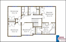 bedroom walk closet floor plan second model home home plans