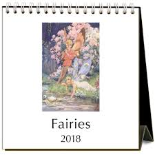 2018 easel desk calendar fairies 2018 easel calendar 9781680812992 calendars com