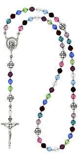 birthstone rosary sterling silver bali birthstone rosary lifetime mothers