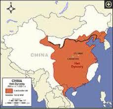 China On A Map Han Dynasty By Meghana Akula