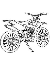 sketch of dirt bike colouring page fun colouring