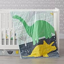 dinosaur crib bedding the land of nod