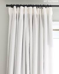 Blackout Curtain Lining Ikea Designs How To Make No Sew Black Out Curtains Window Bedrooms And