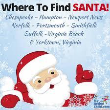 last minute santa where to find santa in hampton roads virginia