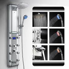 Bath Handheld Shower Az 5333dk09 Akdy Aluminum Rainfall Massage Bath Shower Panel