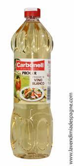vinaigre blanc cuisine vinaigre de vin blanc carbonell la vendimia d espagne