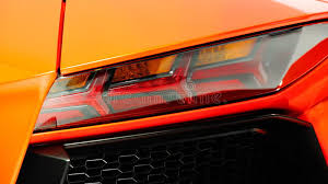 lamborghini aventador rear lights rear led lights of lamborghini aventador editorial stock image