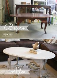 painted coffee table antique grey coffee table distressed
