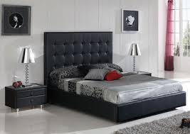 Black Tufted Bed Frame Architecture Black Tufted Bed Frame Sigvard Info